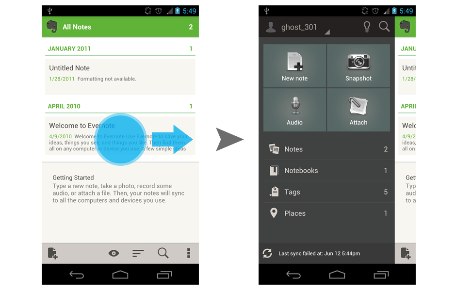 Side Navigation Ui Pattern In Android Androiduiux