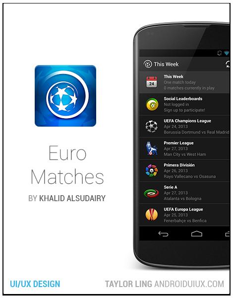 Euro Matches