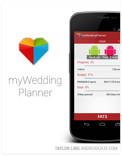 myWeddingPlanner