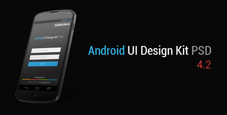 android ui design kit psd 4 2  free download   u2013  androiduiux