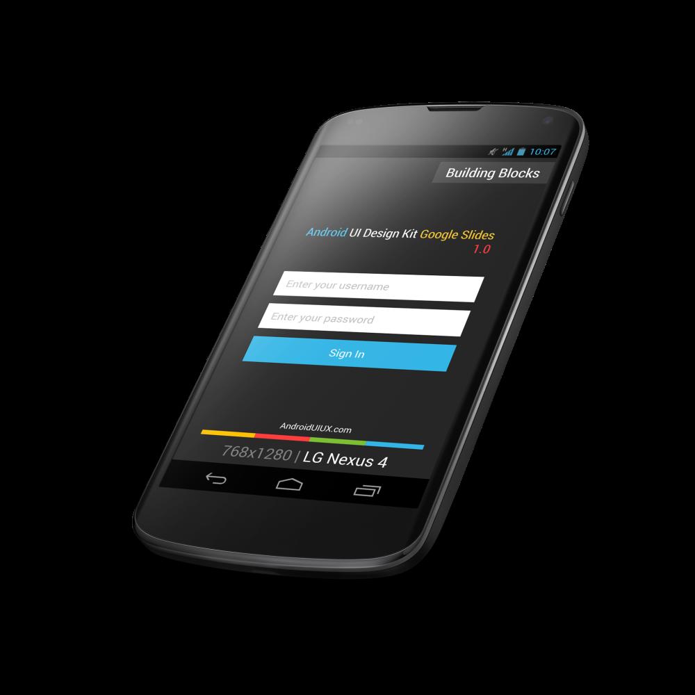 Google Slides UI Design Kit 1.0