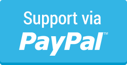 Support via Paypal